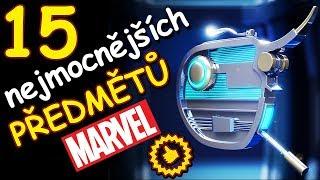 15 NEJMOCNĚJŠÍCH předmětů Marvelu
