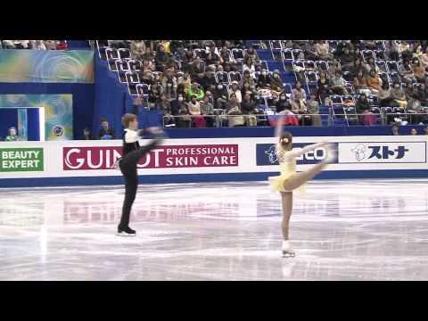 1 K. GAINETDINOVA / I. BICH (RUS) - ISU Grand Prix Final 2013-14 Junior Pairs Free Skating - 동영상