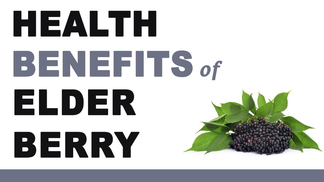 Health Benefits of Elderberry - YouTube