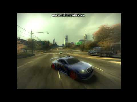 NFS Most Wanted 2005 | Крутые моменты, аварии, трюки.