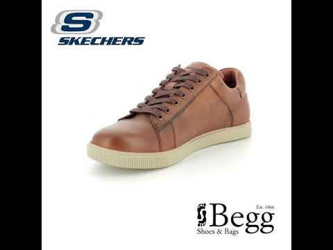3adddc7d045360 Skechers Volden Fandom 65323 TNS TAN casual shoes - YouTube