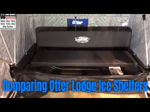 Comparing Otter XT Lodge X-over And XT Pro Lodge X-Over Ice Fishing Shelter
