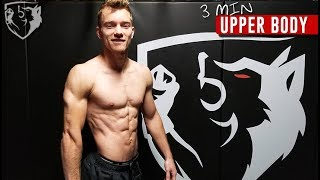 Fighter's Upper Body Workout: 3min Routine