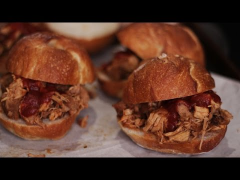 Slow Cooker BBQ Pork And Molasses Baked Beans