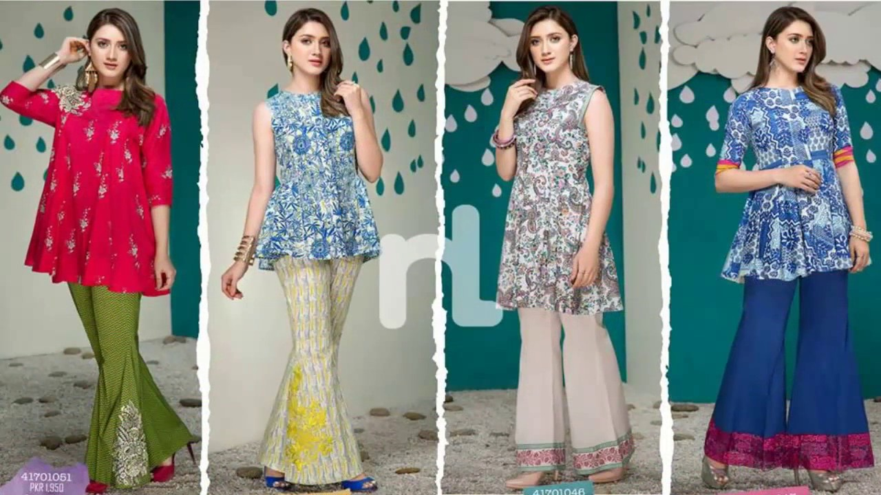 8d8a9fce8a NL Sawan Dresses Collection 2017 by Nishat Linen - YouTube