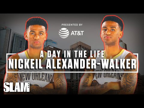 Next In Line For Canadian Basketball Supremacy: Nickeil Alexander-Walker | SLAM Day In The Life