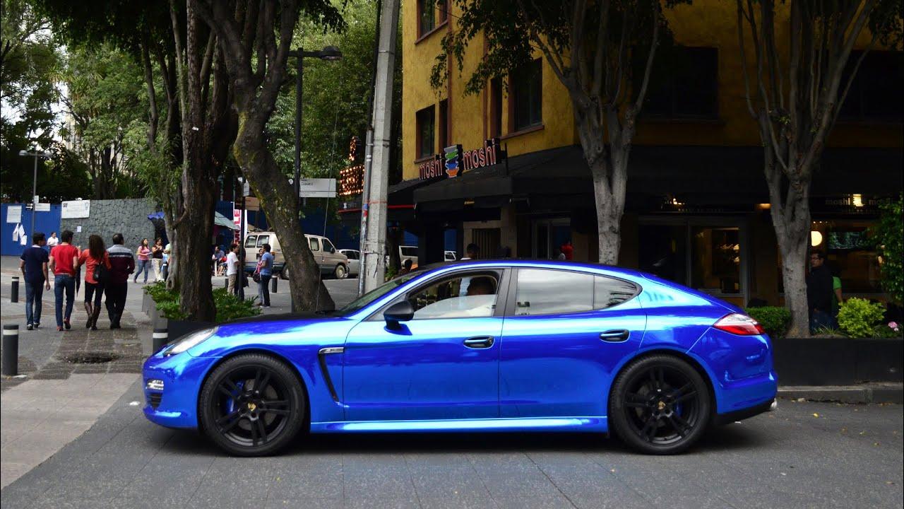 Porsche Panamera 4S >> Porsche Panamera 4S Cromado - Ciudad de México - YouTube