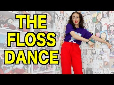 HOW TO DO THE FLOSS DANCE!