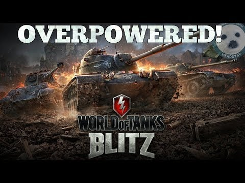 TOP 5 OVERPOWERED TANKS IN WORLD OF TANKS BLITZ thumbnail