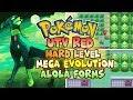 Pokemon UTV Red With Mega Evolution,Alola Pokemons,Extreme Difficulty