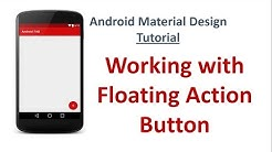 Android Material Design - 12 - Floating Action Button