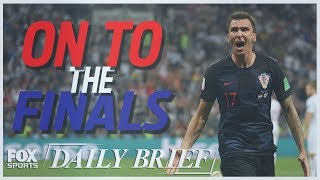 2018 FIFA World Cup™, LeBron James, Lonzo Ball, Houston Rockets (7.11.18) | FOX SPORTS DAILY BRIEF