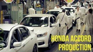 Honda Accord Production - Marysville Auto Plant