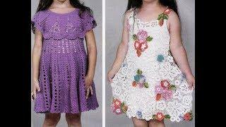 Crochet Patterns| for |crochet baby dress| 3087