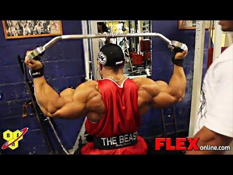 Roelly Winklaar's Beast Sized BACK Workout for 2012 Olympia