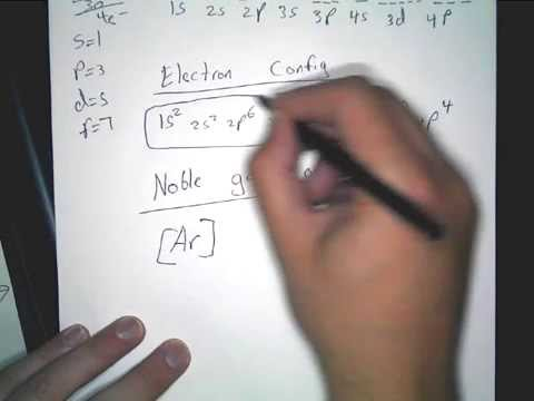 How to write the Orbital Diagram, Electron configuration, and noble gas notation of Selenium (Se