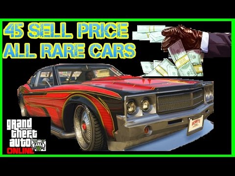 gta 5 online all car sell prices
