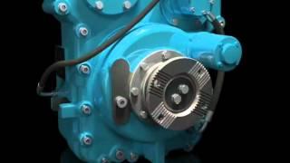 Single Speed, 4 Gear DriveLine Transfer Drop Box with Torque Biasing Inter-Axle