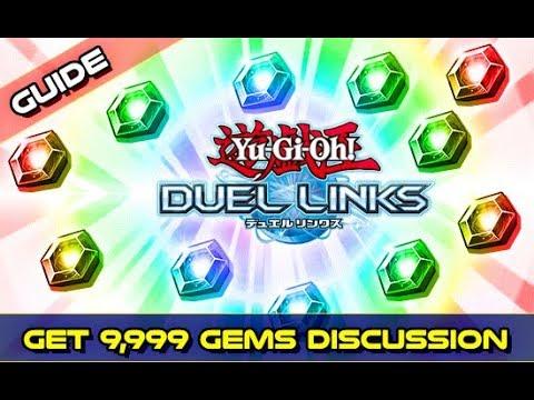 gems yugioh duel links