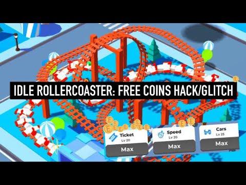 🥇 Idle Roller Coaster: Free Coins Hack/Glitch! [IOS
