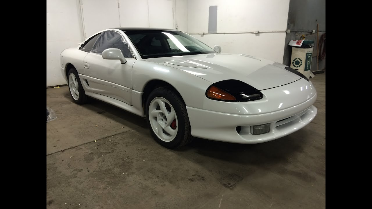 1991 dodge stealth rt twin turbo restoration project youtube. Black Bedroom Furniture Sets. Home Design Ideas