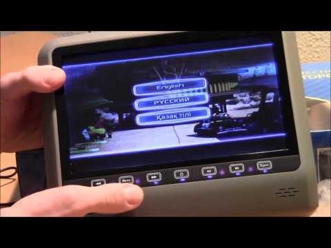 Обзор подголовника с монитором и DVD AVS0945Tиз YouTube · Длительность: 4 мин10 с