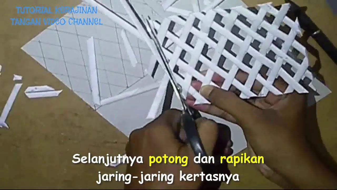 Cara Membuat Tempat Pensil Dari Kertas Koran Kerajinan Tangan Dari cab5ce9ab2