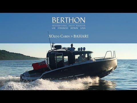 XO 270 Cabin (BAHARI) - Yacht for Sale - Berthon International Yacht Brokers