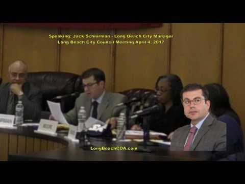 Long Beach City Council City Manager Update 04/04/17