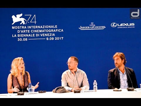 "Venice Film Festival 2017: ""Mother!"" Press Conference 