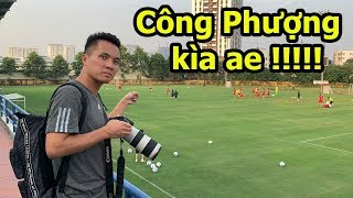 Thử Thách Bóng Đá đi xem Công Phượng , Quang Hải , Đoàn Văn Hậu và ĐT Việt Nam tập AFF Cup 2018