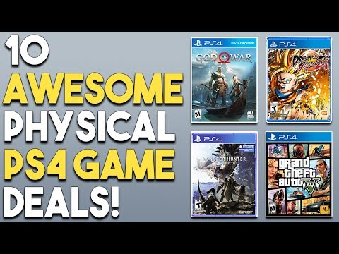 10 AWESOME PS4 Physical Game Deals RIGHT NOW!