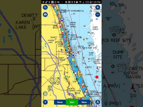 How to check the tide at your destination using Navionics app