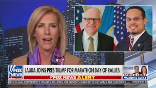 Download lagu WATCH: Laura Ingraham on crisscrossing the country with President Trump today!