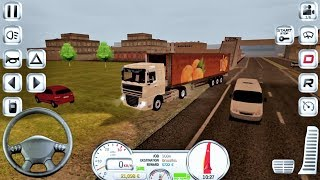 Euro Truck Driver Simulator #3 Let's Go to Bruxelles! - Android IOS gameplay