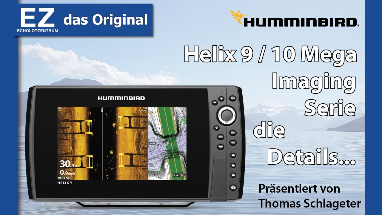 Humminbird HELIX 9 / 10 G2 si Mega Imaging Serie