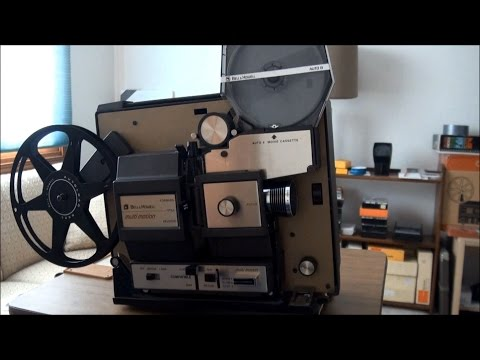 1970 Bell & Howell Auto 8 Film Cassette Projector