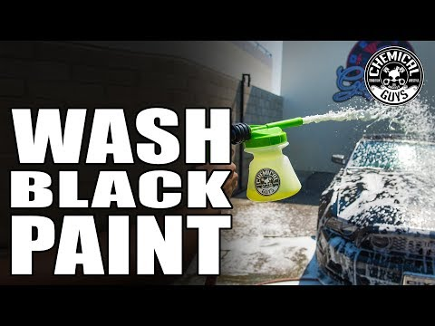 How To Wash Black Paint Without Scratching - Boss 302 Ford Mustang - Chemical Guys Car Care