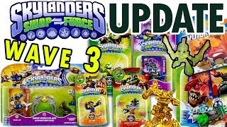 Skylanders Swap Force Wave 3 Update: Rubble Rouser, Spy Rise, Stink Bomb, Dune Bug, Wind Up + More