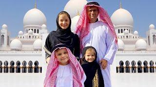 ВЛОГ Абу-Даби - Мечеть шейха Зайда и Феррари парк