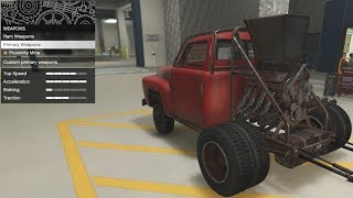 GTA 5 - Arena War DLC Vehicle Customization - Apocalypse Slamvan (Roadkill Stubby Bob) and Review