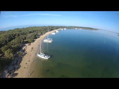 Trailer Sailing Lakes Entrance To Bunga Arm