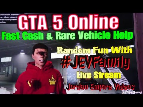 GTA 5 Online San Andreas Super Sport Series DLC #JEVFamily Live Stream (New Cars, Money Grind, Rare)