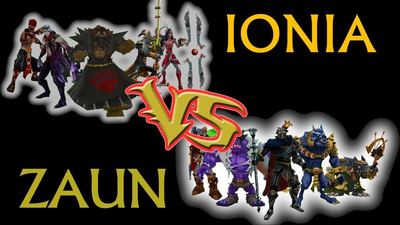 LoL CSC Round 5 Game 3 Zaun vs Ionia