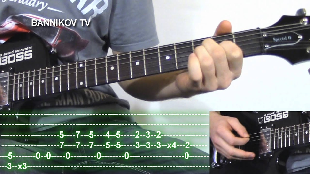 How To Play Metallica Until It Sleeps Guitar Lesson With Tabs