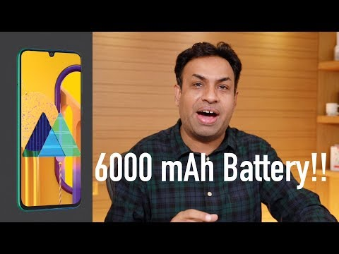 Samsung Galaxy M30s Teased with 6000 mAh Battery