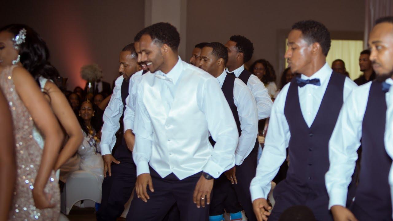 U Tube Wedding Dances.Best Habesha Wedding Group Dance Saba And Matt