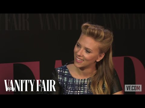 Scarlett Johansson on Returning to Broadway and Her Recent Engagement - Vanity Fair at TIFF 2013