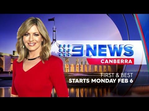 Nine News Canberra - 30 Second Promo (January 2017)