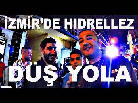 DÜŞ YOLA - İZMİR TEPECİK TENEKELİ MAHALLE'DE HIDRELLEZ 2016
